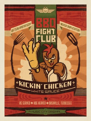 Hog Heaven BBQ Fight Club: Kickin' Chicken