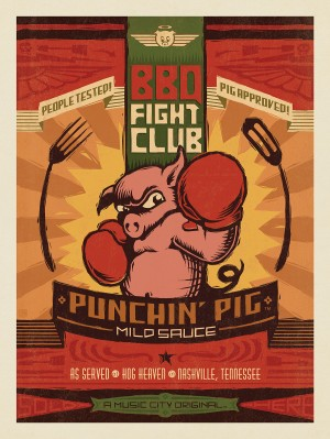 Hog Heaven BBQ Fight Club: Punchin' Pig