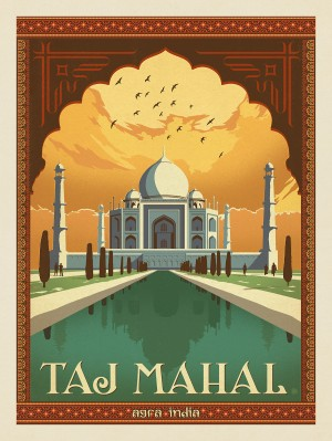 India: Agra, Taj Mahal