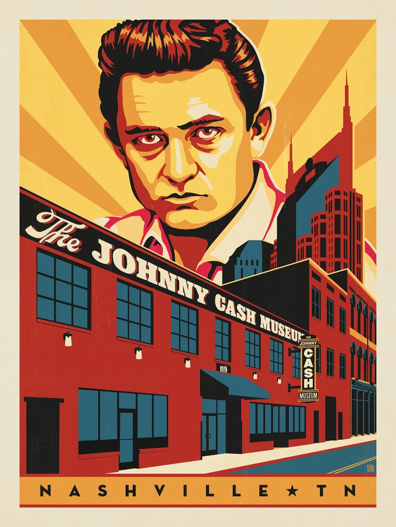 Anderson Design Group – Spirit of Nashville – Johnny Cash Museum
