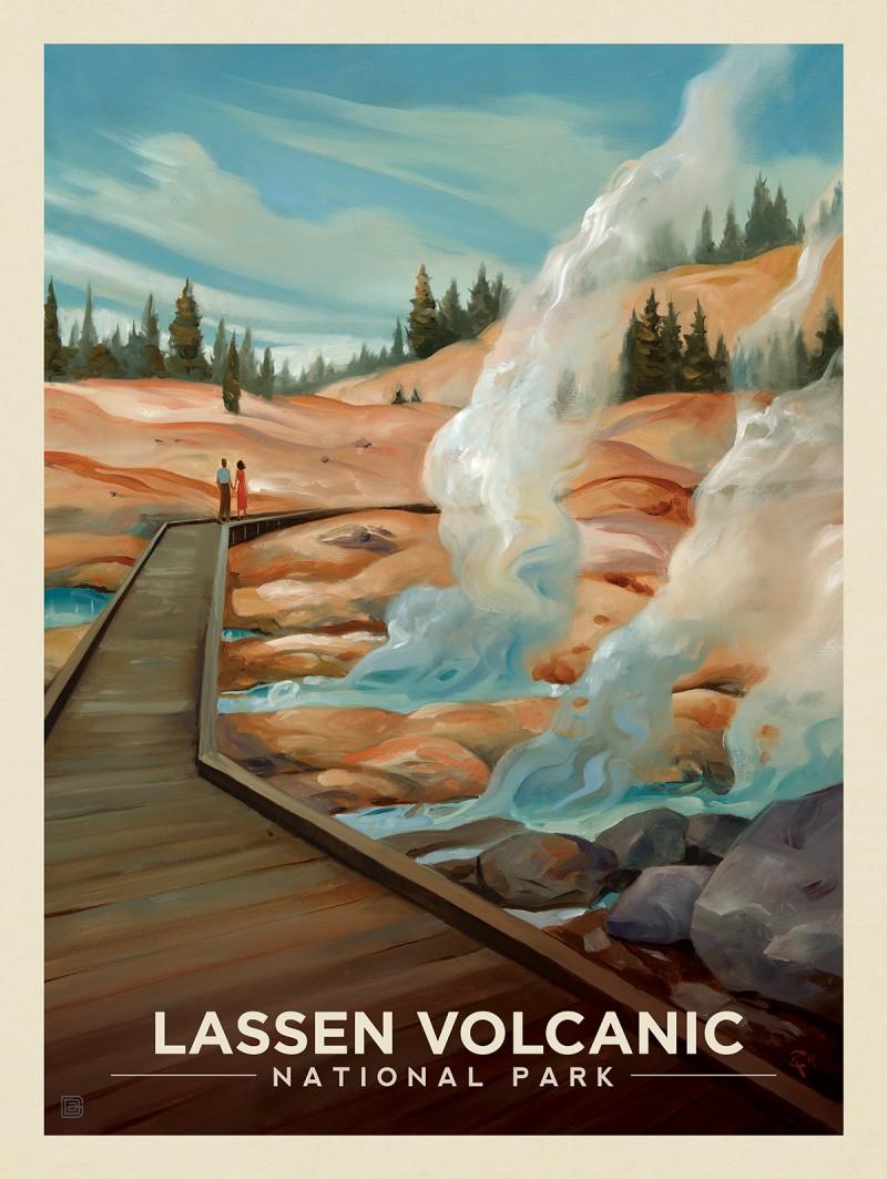 Lassen Volcanic National Park: Warm Regards