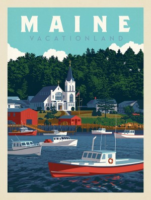 Maine: Vacationland
