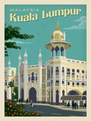 Malaysia: Kuala Lumpur Railway Station