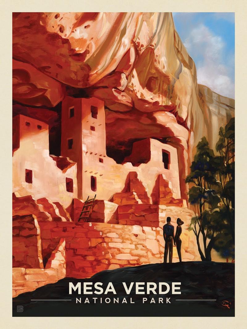 Mesa Verde National Park: Cliffside Treasure