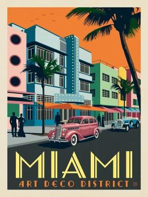 Miami: Art Deco District