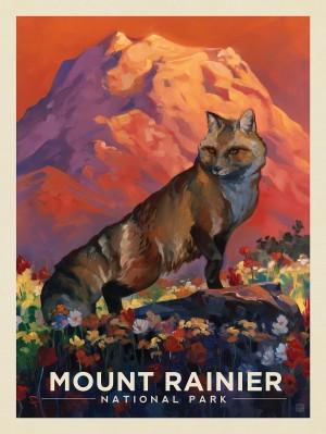 Mount Rainier National Park: Floral Fox