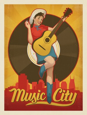 Music City Pinup Girl