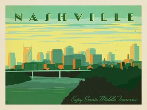Nashville Skyline: Horizontal