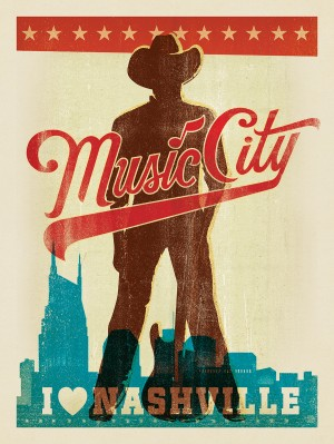 OverPrint: Music City Man