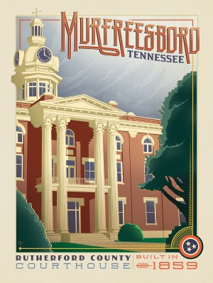 Rutherford County Courthouse: Murfreesboro