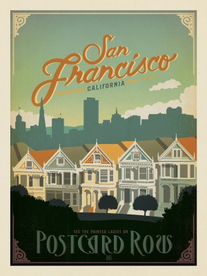 San Francisco: Postcard Row