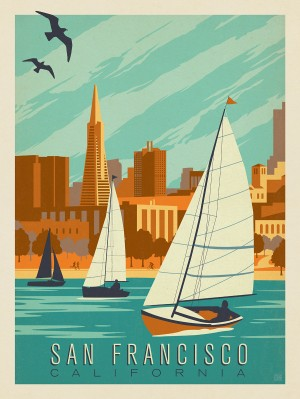 San Francisco Sail Boats