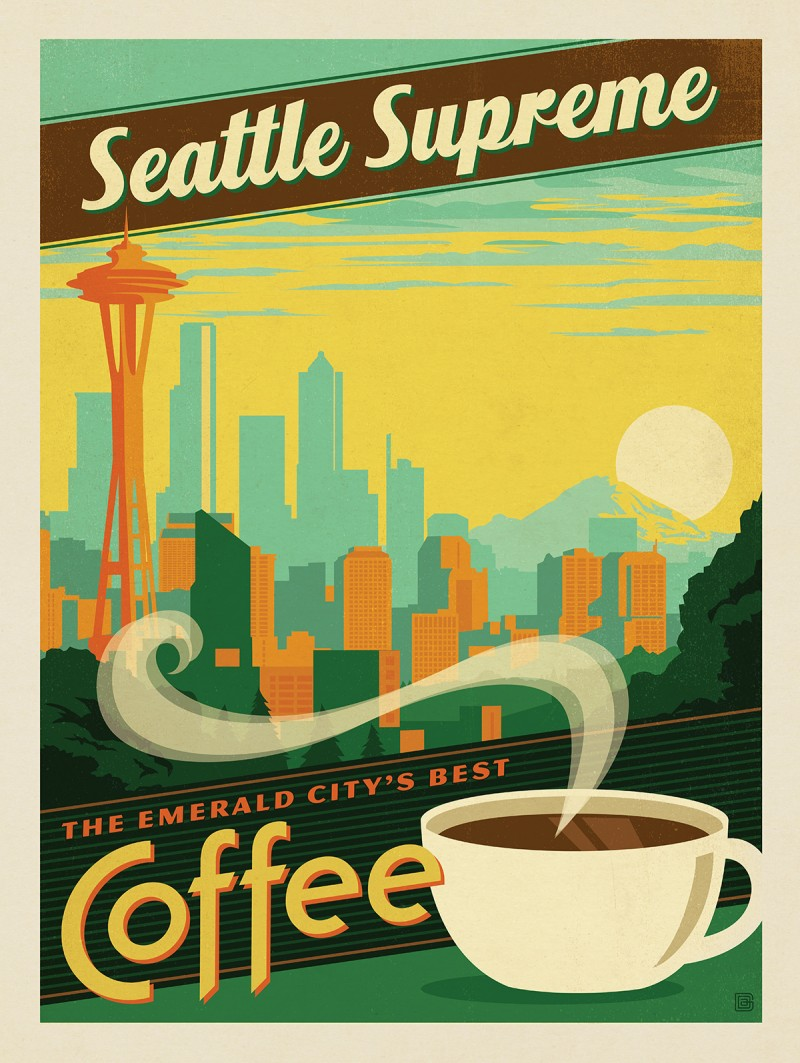 Anderson Design Group – Coffee Collection – Seattle Supreme Coffee