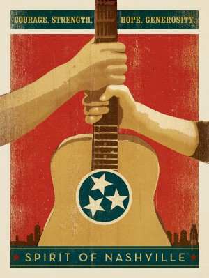 Spirit of Nashville: Courage. Strength. Hope...