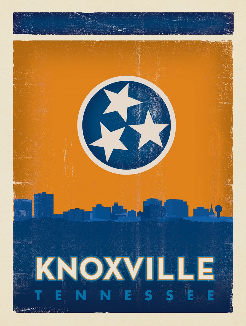 Anderson Design Group – Knoxville Tennessee – State Flag Knox