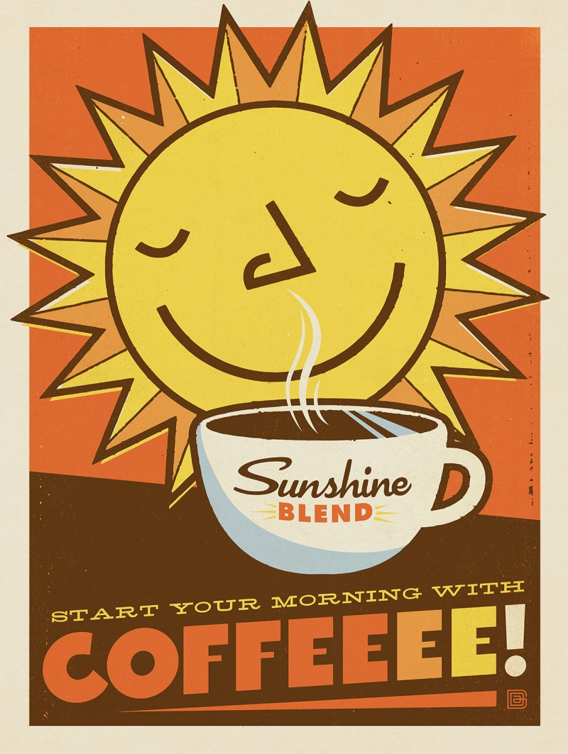 Anderson Design Group – Coffee Collection – Sunshine Blend Coffee