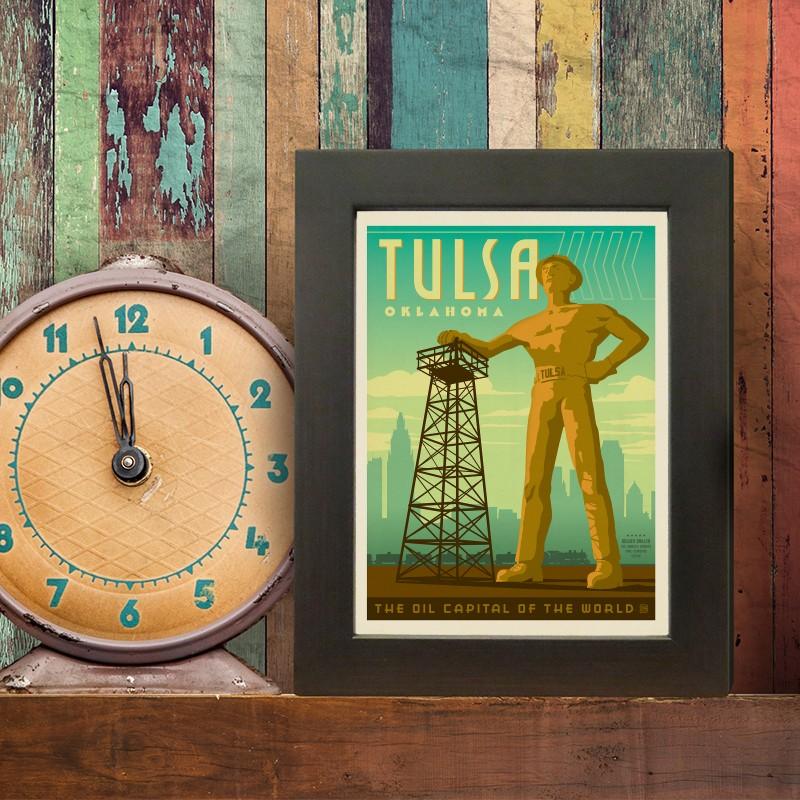 Anderson Design Group American Travel Tulsa OK Golden Driller