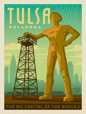 Tulsa, OK: Golden Driller