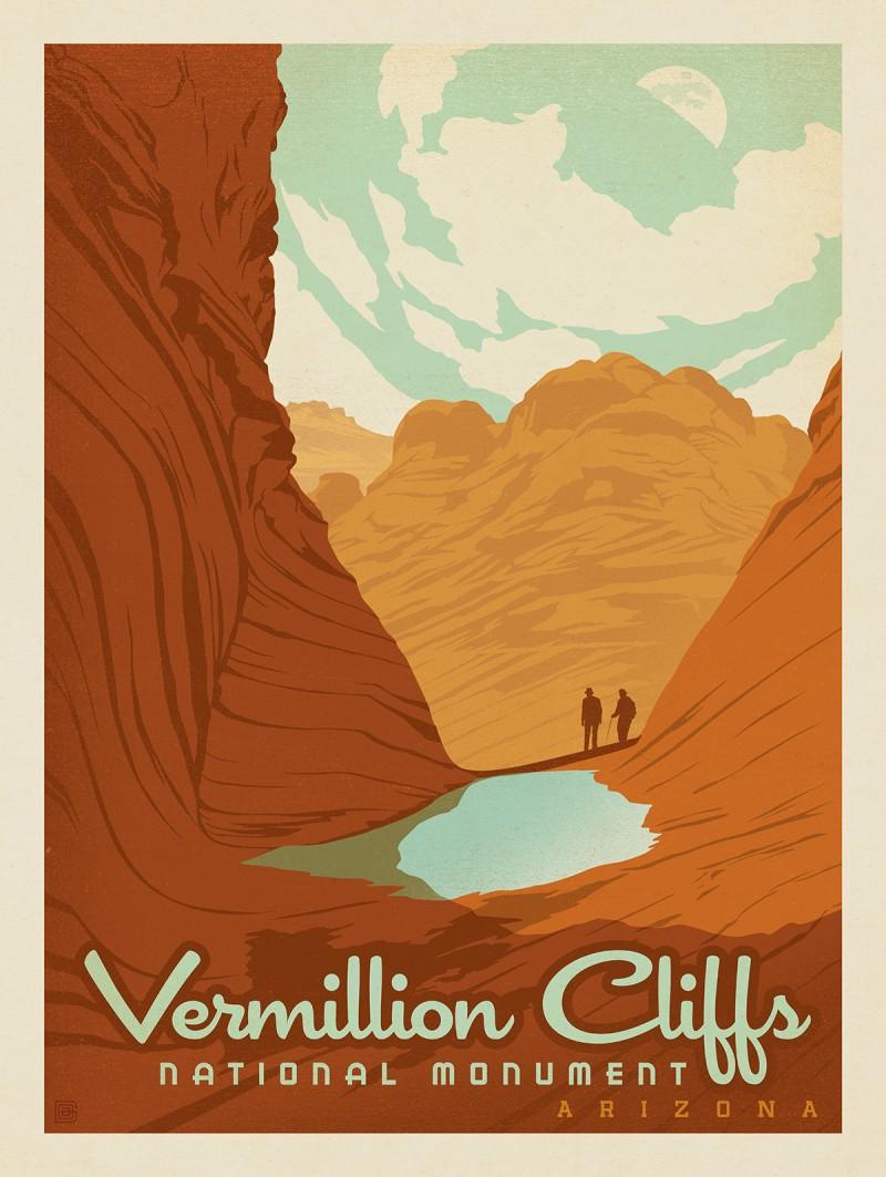 Vermillion National Monument, Arizona
