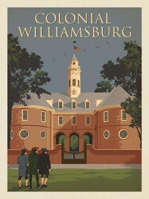 Williamsburg, VA: Capitol Building