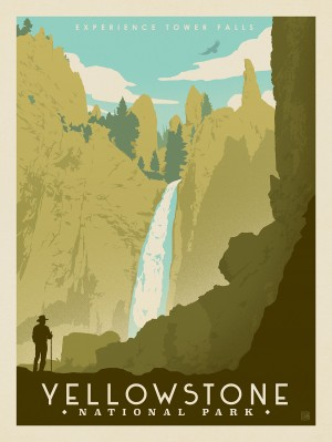 Yellowstone National Park: Tower Falls