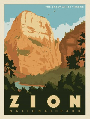 Zion National Park: The Great White Throne
