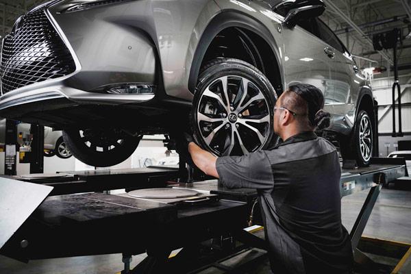 Lexus Services - Alignment 1
