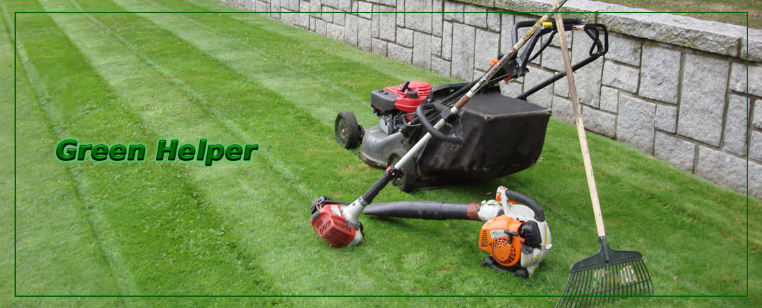 Green Helper Does Lawn Maintenance in Anchorage, AK