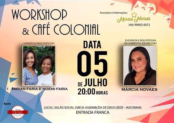 Workshop & Café Colonial