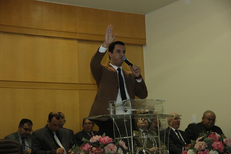 Culto Ação de Graças  Aniversário Vice - Presidente Pr. Jacson Rodrigo Ferreira