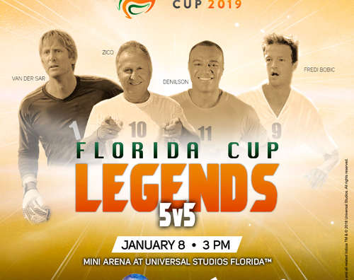 Global Soccer Legends to Compete in a Special 5v5 Tournament at