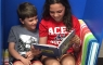 Shared-reading in the book nook