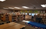 Our newly renovated library space