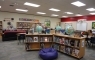 We try to create a cozy, comfy space where students can relax and get lost in a book.