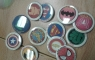 The students collect super hero buttons after reading for so many minutes.  They could collect up to 12 buttons.