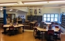 This is our beautiful library at Truro Jr. High!