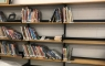 Existing Library shelves