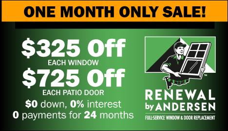 View All Window & Patio Door Special Offers