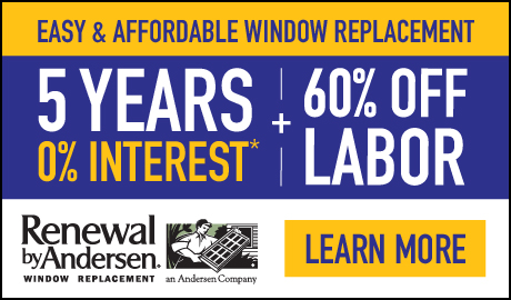 Easy and Affordable Window Replacement- 5 Years 0% Interest, plus 60% OFF Labor!