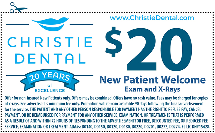 New Patient Welcome Coupon