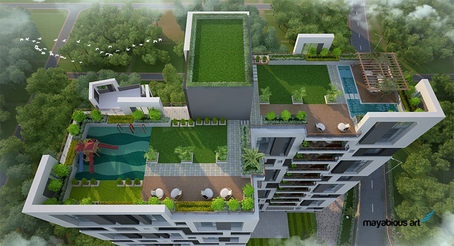 Experience King-sized Living with 4BHK Luxury Apartments at Fortune Estates