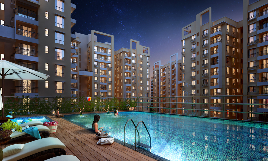 Visit Fortune Heights in Barasat to Buy Your Dream Flat