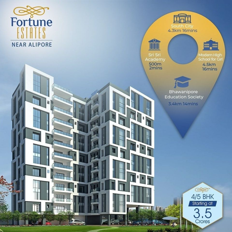 Embrace a Life of Pure Luxury in South Kolkata With Fortune Estates