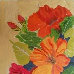 THE ROMANCE OF FLOWERS size - 11x16In - 11x16