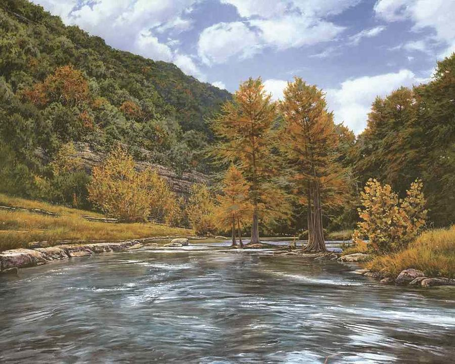 River size - 14x11In