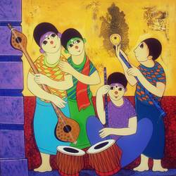 Nadbramha - Music of God size - 36x36In - 36x36