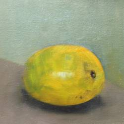 Still life with Alphonso size - 8x8In - 8x8