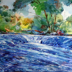 FRESHNESS OF NATURE size - 17x30In - 17x30