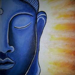 Gautam Buddha - The Enlightened size - 8x10In - 8x10
