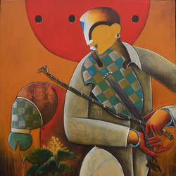 musician  size - 30x36In - 30x36